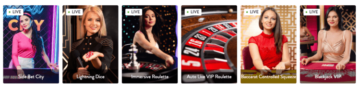 Mr. Play live casino